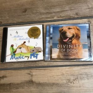 Other - New Set of 2 CD music for dogs